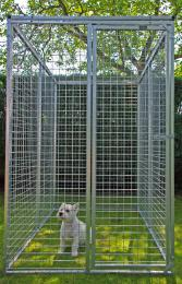 Universele Kennel 1,2m x 1,75m  hoogte 1,8m